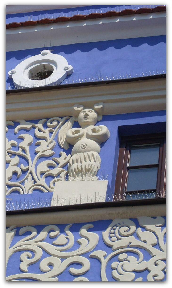 Architectural Detail, Zamość, Poland