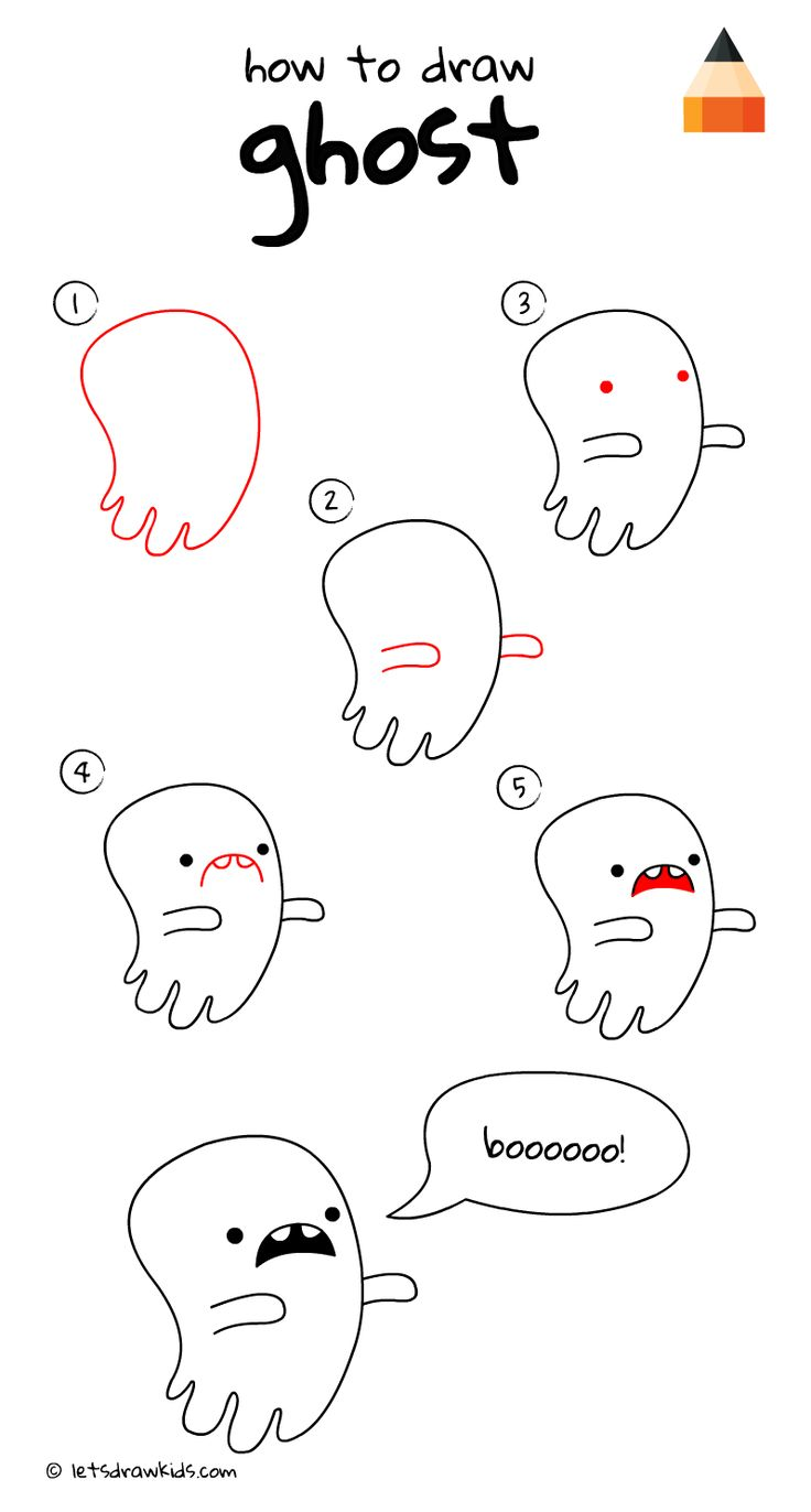 Uncategorized How To Draw A Ghost Step By Step 61 best how to draw lets kids images on pinterest a ghost easy step by httpwww