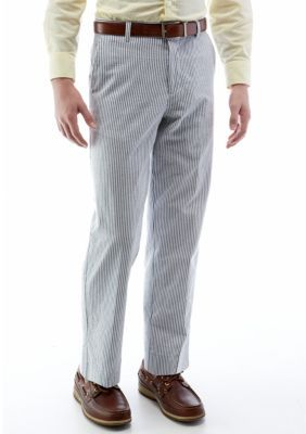 Izod Boys' Seersucker Pants Boys 8-20 -  - No Size