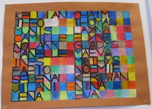 Les lettres et l'alphabet en art plastique | Art plastique, Art, Idées d'art