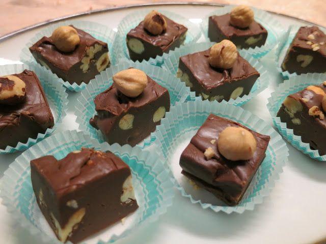 Σοκολατάκια φουντουκιού!