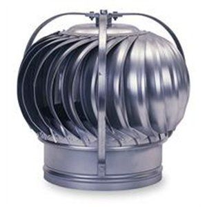 4' Galvanized Turbine Ventilator by Empire Ventilation Equipment Co., Inc. ** Click on the image for additional details.