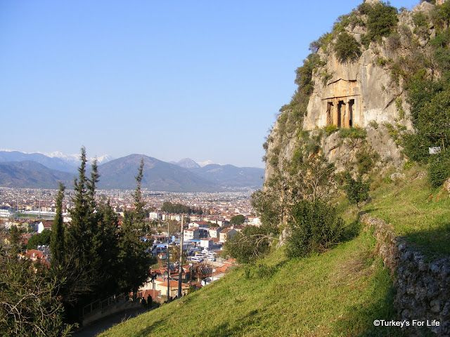 Fethiye's Lycian Rock Tombs - A photo essay. Amazing views. :)