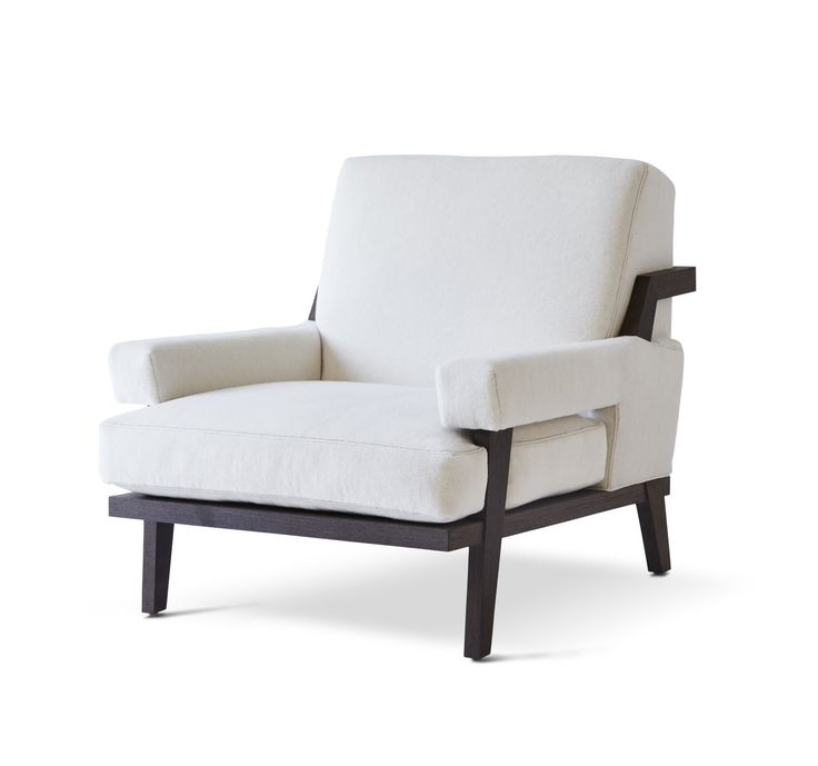 Buy CIGAR LOUNGE CHAIR by Kimberly Denman - Made-to-Order designer Furniture from Dering Hall's collection of Transitional Contemporary Mid-Century / Modern Armchairs & Club Chairs.