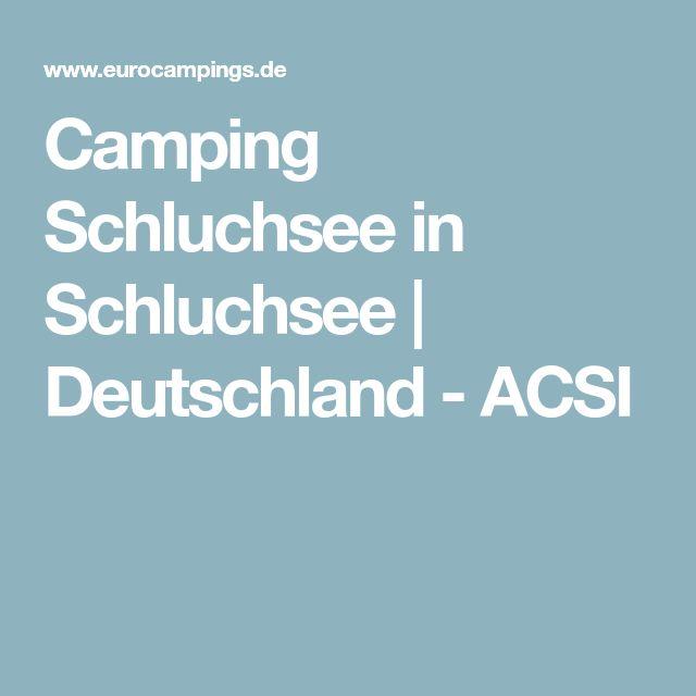 Camping Schluchsee in Schluchsee | Deutschland - ACSI