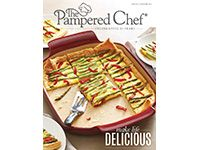 The Pampered Chef catalog party. Orders due August 8. Order can be shipped to you.