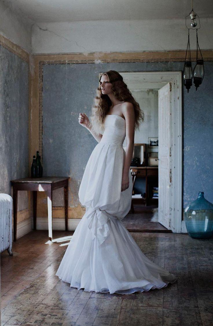 white: Katrin Rohrberg, Ball Gowns, Jesper Høvring, Dresses Fashion, Ads Campaigns, Fashion Looks, Spring 2012, Høvring Spring, Fashion Shooting