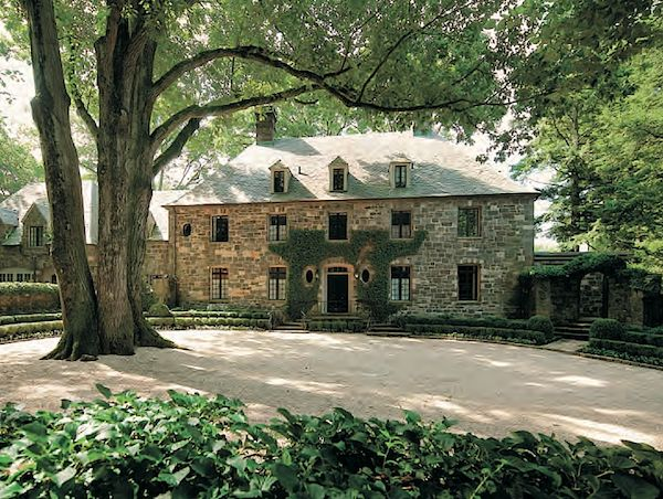 Beautiful 1928 stone house #Greenwich landscaping by Doyle ...