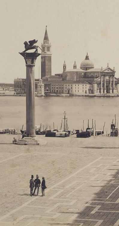 hierarchical-aestheticism: Venice, 1865.