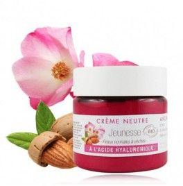 Crema bio anti-age si antirid  cu rosa mosqueta si acid hialuronic