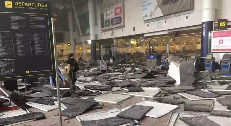 Brussels airport explosions  live updates
