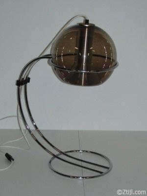 Vintage, retro table lamp. Raak