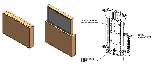 End Of Bed Tv Lift Cabinet Uk Google Search Diy Home