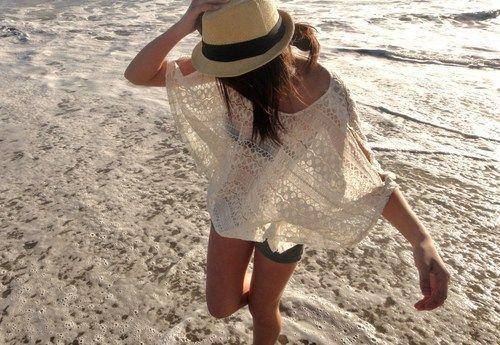 great beach look