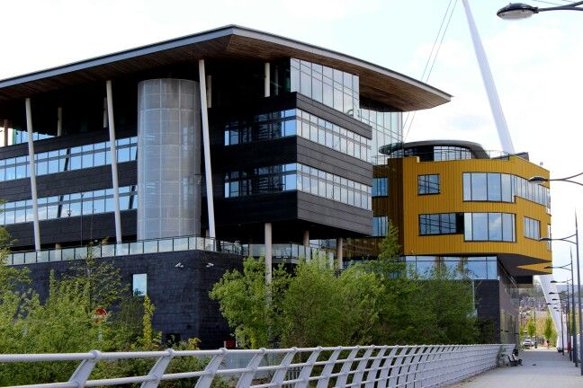 Nnewport City Campus, South Wales
