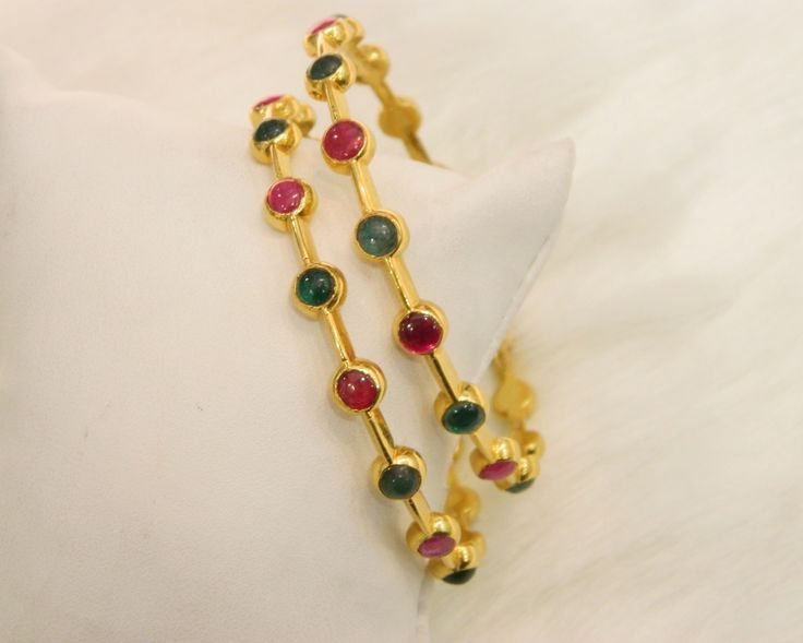 Bangles / Bracelets / Kada - Gold Jewellery Bangles / Bracelets / Kada (BG2740RE2434) at USD 2,541.62 And GBP 1,941.24