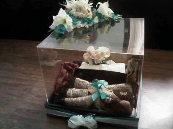 Box Packaging or name is seserahan for wedding day