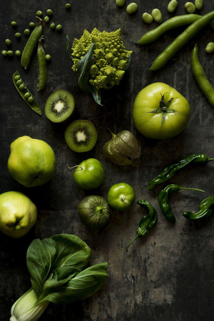 GO GREEN - mit grünen Früchten und Gemüsesorten durch den Sommer :)