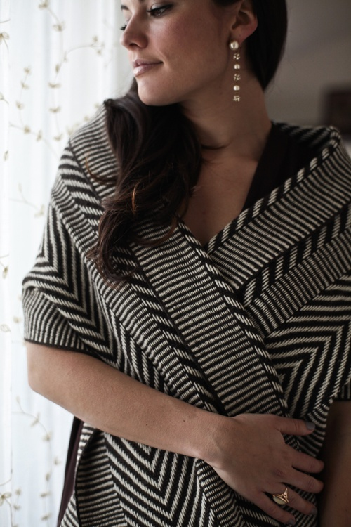 Shawl Trigo by Voz, fair trade fashion collective that brings Chilean artistry to the global market