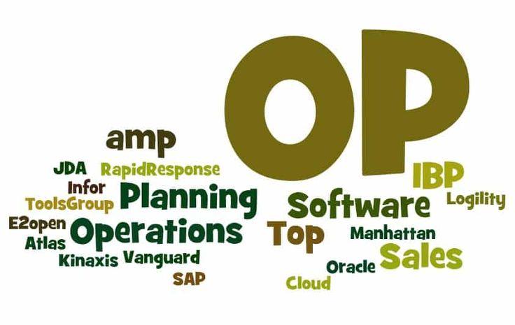 Top 11 Sales and Operations Planning (S&OP) Software - https://www.predictiveanalyticstoday.com/sales-operations-planning-sop-software/