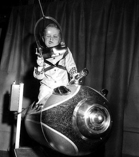 American Toy Fair, 1953  Space Ship / Rocket / Atomic Age / Retro Futurism / Vintage Future