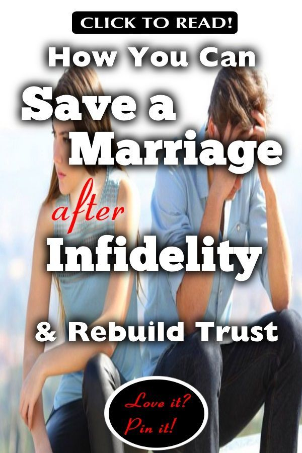 You both want save marriage after infidelity how