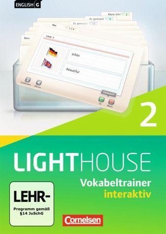 English G Lighthouse, interaktiver Vokabeltrainer, 6. Schuljahr