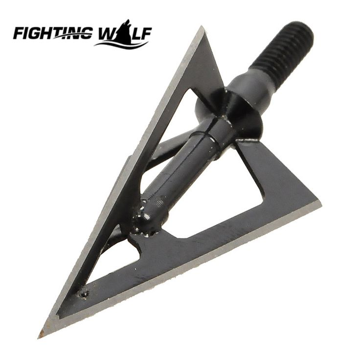 1 pcs/lot Hunting Arrow Tip Broadheads 100GR 3-blades Fit Hunting Archery Compound Bow or Crossbow for Hunting Sport