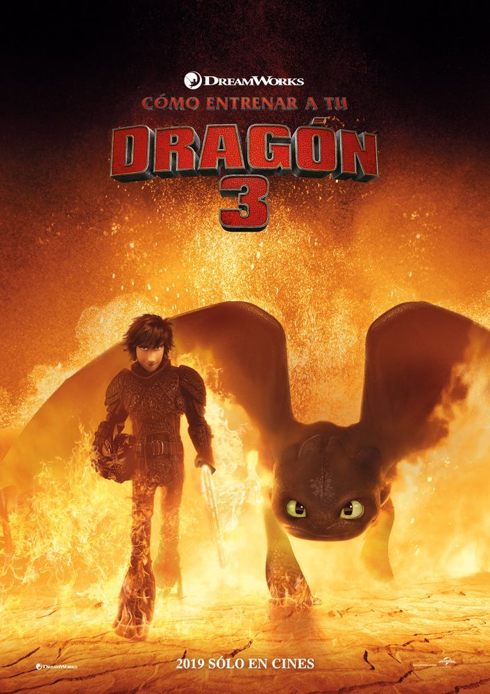 How To Train Your Dragon 3 The Hidden World 2 New International