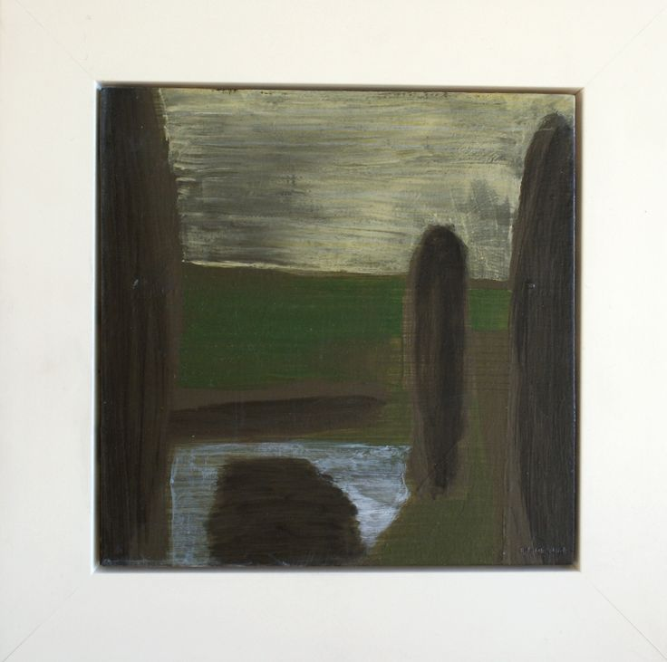 3 poplars - Hawkes Bay landscape (sold)