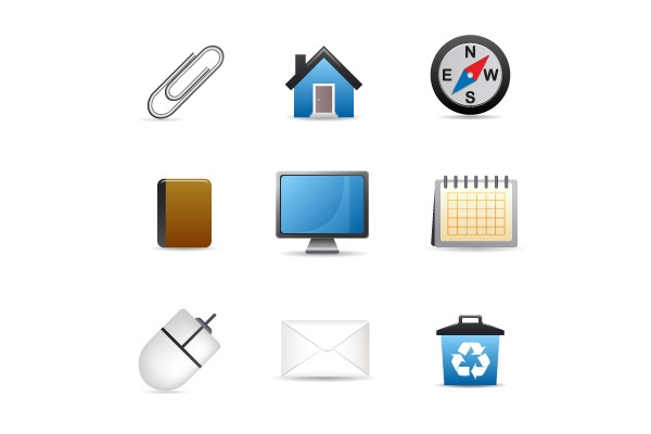 UNIVERSAL ICONS are icons that are always used to represent the same function. .This is different from a program icon like on your desktop or from an icon that only occurs in one program.