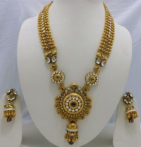 Nakoda Jewels - Dealers and Manufacturers of Artistic Gold Jewellery, Antique Gold Jewellery, Calcutta Jewellery in Mumbai, India.