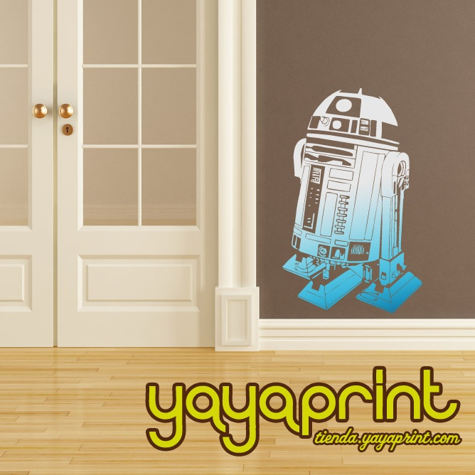 Star wars r2d2 vinilo vinilos decorativos vinilo pared - Vinilos pared madrid ...
