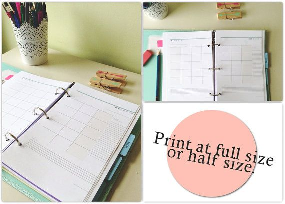Best 25+ Monthly planner template ideas on Pinterest Monthly - diary paper template