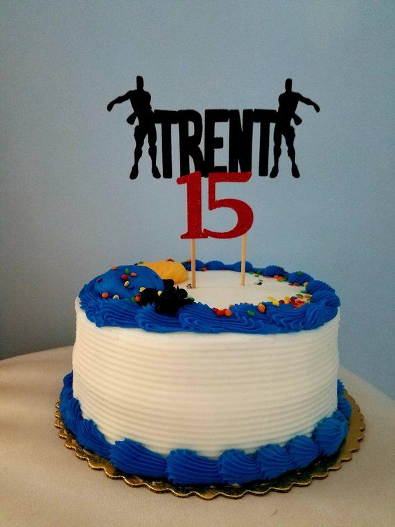 Fortnite Cake Topper Fortnite Floss Birthday Cake Topper