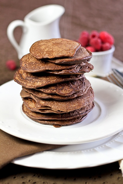 The Best Darn Chocolate Pancakes EVER! – Totally Guilt Free!