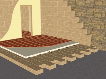 isolation thermique des sols gr ce aux blocs de chanvre. Black Bedroom Furniture Sets. Home Design Ideas