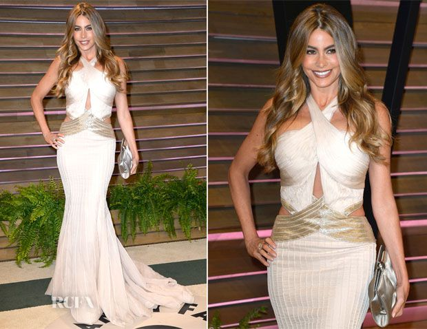 Sofia Vergara In Roberto Cavalli – Vanity Fair Oscar Party 2014