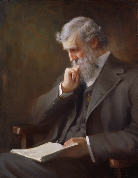 John Muir from the National Portrait Gallery
