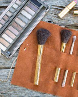 15 Clever DIY Makeup Storage + Organization Ideas