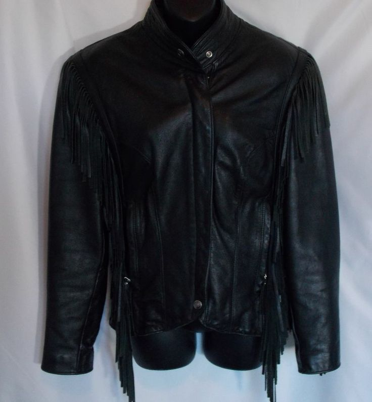 Harley Davidson Jacket Vegan Black