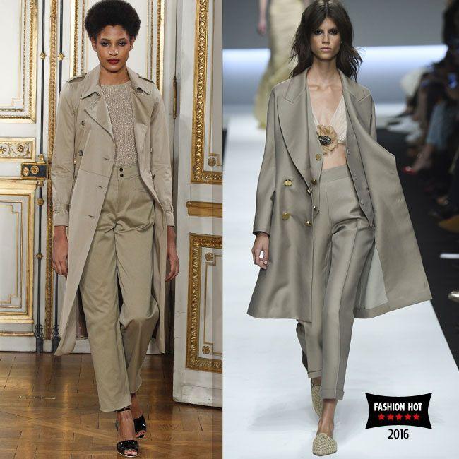 Монохромная мода и самые модные одноцветные образы сезона весна лето 2016. ТОП-3 модных оттенка для монохромного лука в модном журнале Fashion Woman Media.  #monochromatic