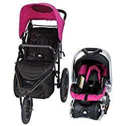 Baby Trend Stealth Jogger Travel System, Viola Purple