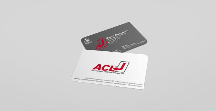 ACL | Piezas Gráficas | Tarjetas Corporativas