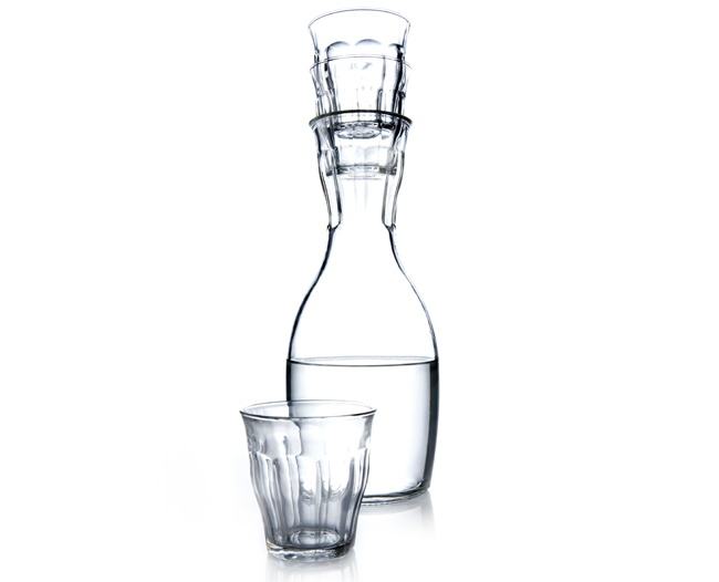 Royal VKB French Carafe and 4 Glasses