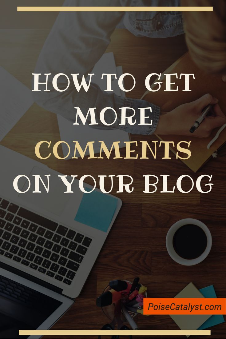 Here's how to get more more blog comments. Click through for the video tutorial!