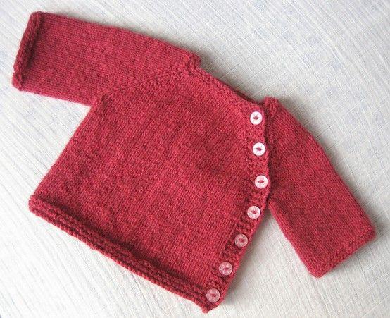 Babysweater, gratis opskrift