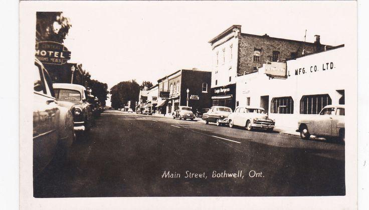 RP: BOTHWELL , Ontario , Canada , 30-40s ; Main Street