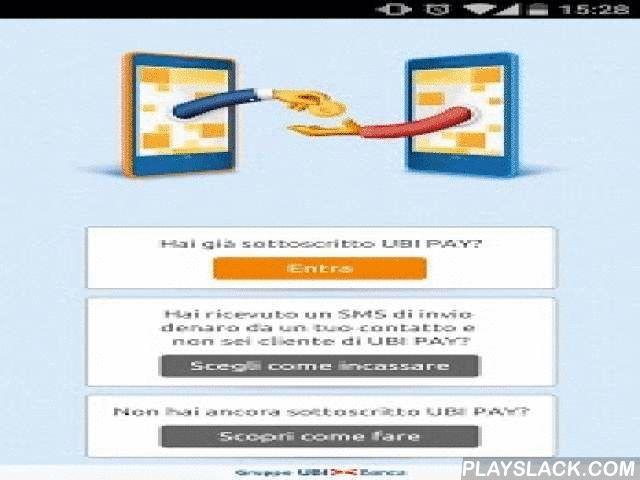 UBI PAY  Android App - playslack.com ,  UBI PAY: l'app che rivoluziona il tuo modo di pagare. Con UBI PAY invii denaro ai contatti della tua rubrica, compri online e paghi in mobilità. Con UBI PAY hai tre comode funzioni sempre a portata di mano:- Invii denaro ai contatti della tua rubrica;- Paghi con il tuo smartphone NFC nei punti vendita abilitati (solo con Smartphone e SIM abilitati);- Fai acquisti online con un click!Con UBI PAY le tue carte e i tuoi conti sono sempre con te, con la…