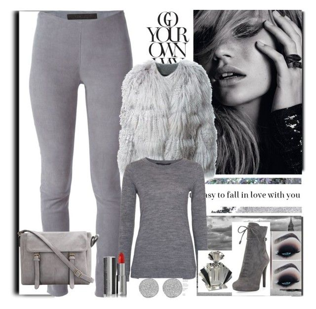 """""""Basic in Grey Fall-Winter"""" by siempreguapaconnormacano on Polyvore"""